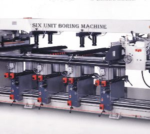 ABM HS-114T & 196T Six & Nine Unit Boring Machine
