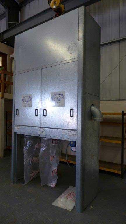 Air Plants Twin Bin Dust Unit