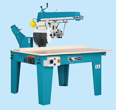 Mpower Radial Saw Type MRA 350 400 450 1