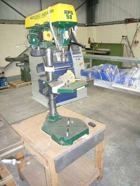 Record Bench Drill