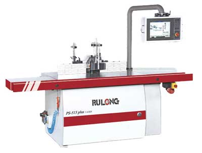 Rulong 3 axis Programmable Spindle Moulder Type 515 Plus