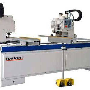 TOSKAR Flexis 4 Panel Boring Machine