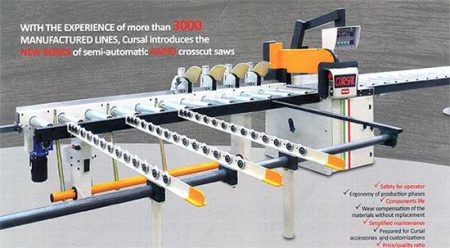 Cursal Semi-Automatic Cross-Cut Saws
