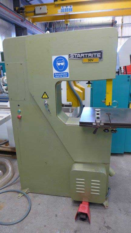 Startrite 20 V Vertical Bandsaw - Conway Saw Woodworking Machinery