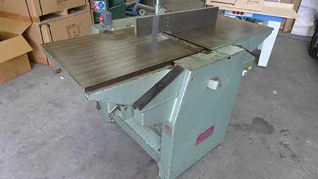 Wadkin Bt 630 Planer Thicknesser Conway Saw Woodworking Machinery