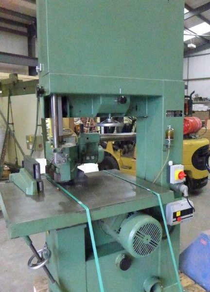 Wadkin PBR Band Resaw - Conway Saw Woodworking Machinery