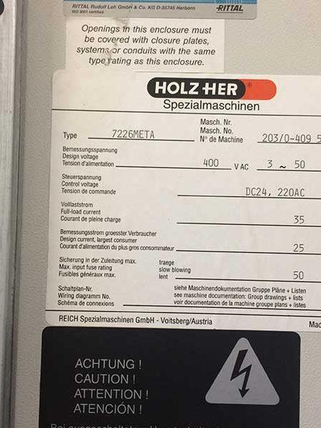 Holzher Unimaster 7226